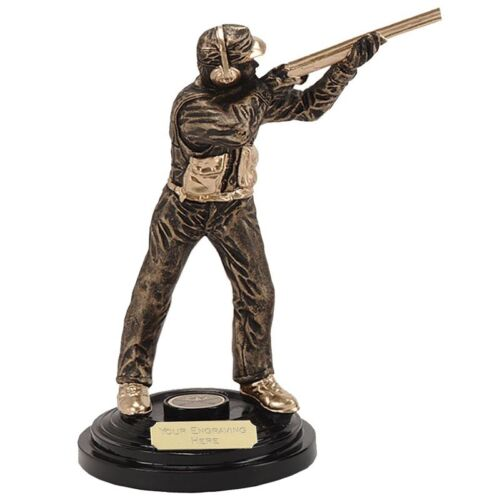 "Clay pigeon tir trophy 5.75/""//8.5/"" gravure gratuite clayshooter gravé neuf"