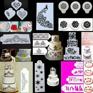 Lace-Flower-Cake-Cookie-Fondant-Side-Baking-Wedding-Stencil-Decorating-DIY-Tools
