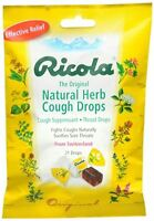 Ricola Natural Herb Cough Drops Original 21 Each (pack Of 8) on sale