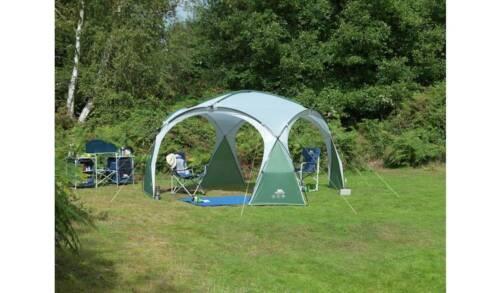 TRESPASS Camping événement Shelter deux avec Windows et un PLAIN NEW /_ UK