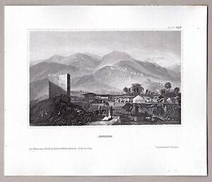 Enthousiaste Proche-orient-vue De Jericho/palestine-clés, Acier Clés Pour 1855-afficher Le Titre D'origine