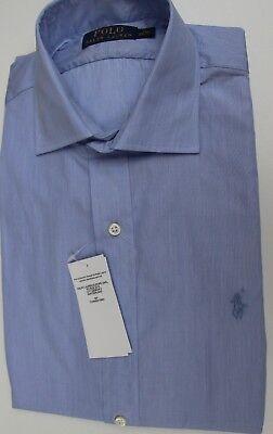 Cordiale Camicia-tg. 40/41 Us 16-ralph Lauren Blu Chiaro-prodotto Nuovo-mostra Il Titolo Originale Con Una Reputazione Da Lungo Tempo