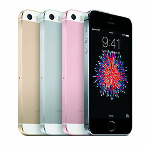 APPLE-IPHONE-SE-16-32-64-128GB-Gold-Silver-Grey-Rose-UNLOCKED-1Yr-Warranty-inBox