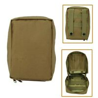 Molle Tactical Trauma & First Aid Kit Pouch Tan Military Bag Waterproof Molle