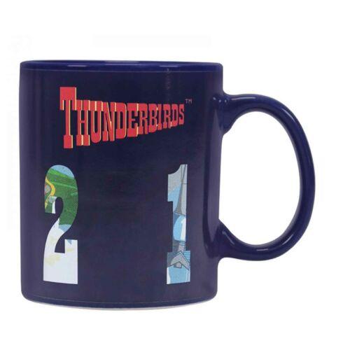 Thunderbirds Heat Changing Kaffeetasse Vehicles Nue offiziell Blau Boxed One
