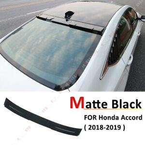 FOR-2018-HONDA-ACCORD-10TH-GEN-SEDAN-VIP-MATTE-BLACK-REAR-WINDOW-ROOF-SPOILER