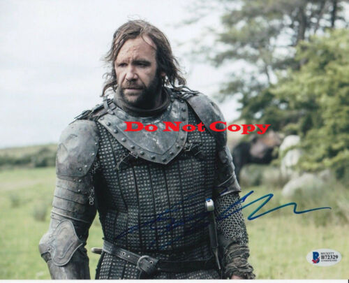 RORY MCCANN  GAME OF THRONES 8x10 autographed RP