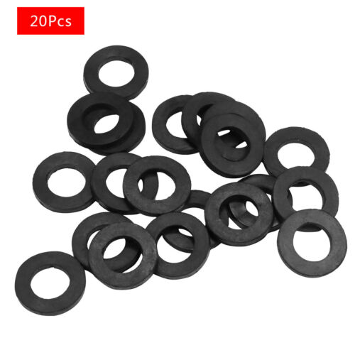 20Pcs Rubber Replace Seal Rings Shower Hose Washers For Tube Pipe Bath Head New