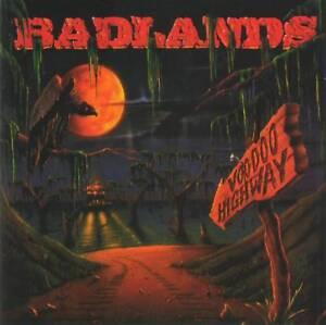 BADLANDS-VOODOO-HIGHWAY-1991-RARE-CD-Jewel-Case-FREE-GIFT-Jake-E-Lee-Rock