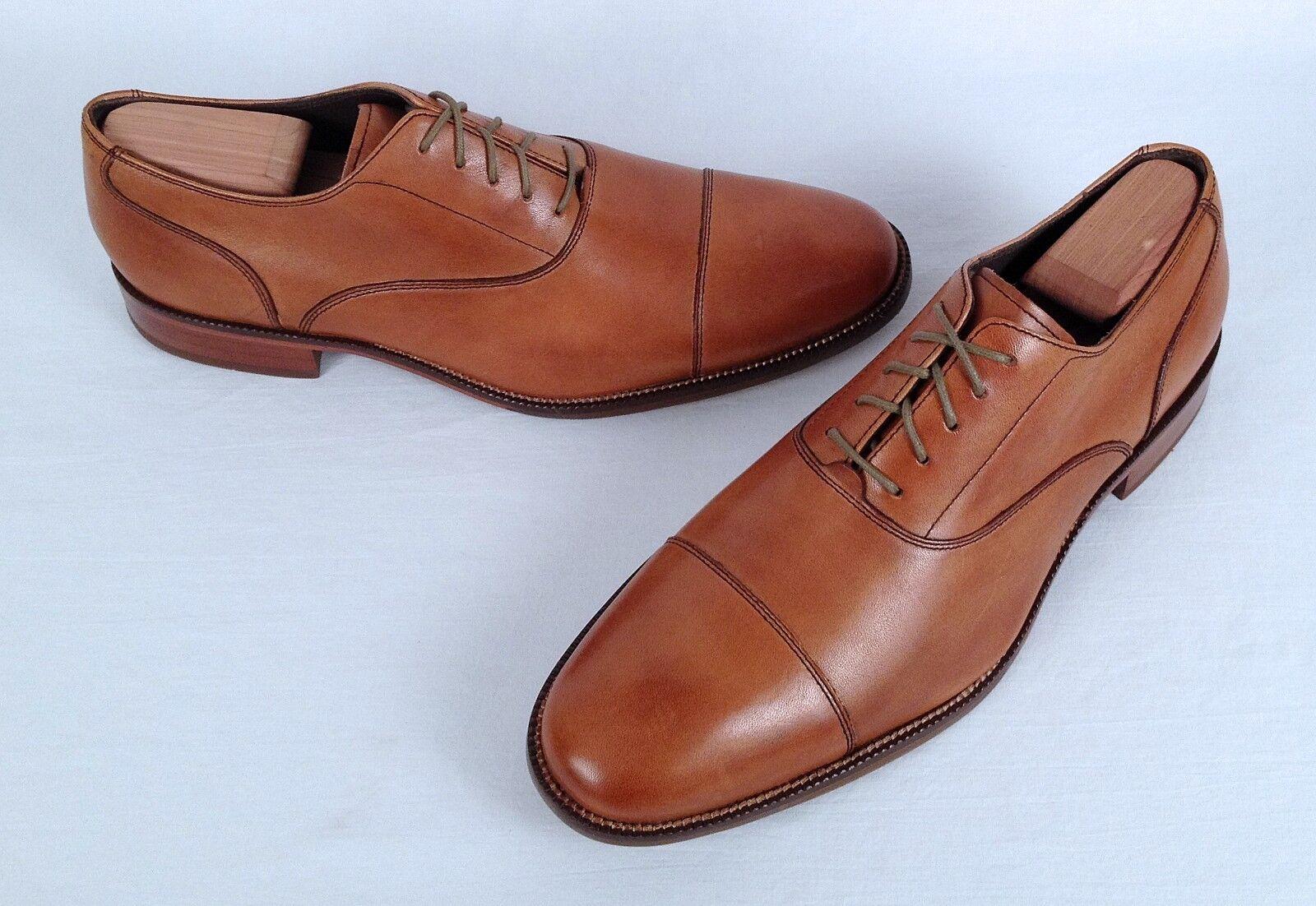 NEW!! Cole Haan Captoe Oxford- Walnut Tan- Size 11 M   (CH2)