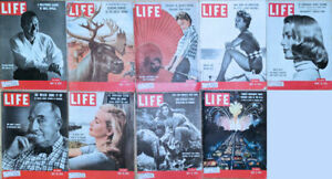 Lot-of-16-1954-LIFE-Pat-Crowley-Grace-Kelly-William-Holden-Angeli-Eva-Marie