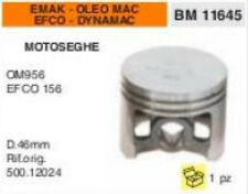 500.12024 PISTONE MOTOSEGA EMAK EFCO 156 DYNAMAC OLEO MAC 056 OM956 Ø 46mm