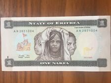 Eritrea 1 Nakfa 1997 P1 UNC kassenfrisch bankfrisch