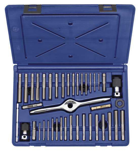 Tap and Die Set,41 pc,Carbon IRWIN HANSON 1840234