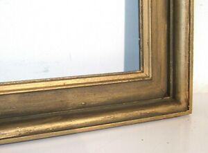 ANTIQUE-WOOD-GILDED-FRAME-FOR-PAINTING-LITHOGRAPH-PHOTO-20-x-16-INCH-e-2