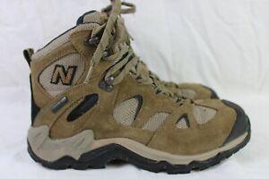 New Balance Mens Terra Stryder Gore-Tex Vibram Soles Brown Hiking Boots Sz 9.5