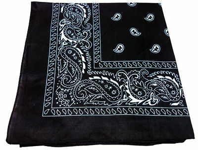 New Paisley Bandana Neck Scarf for All Ages - Multiple Colours