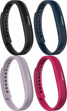 Fitbit Flex 2 Activity Tracker Wristband Monitor - Black/Lavender/Navy/Magenta