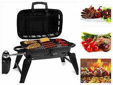 Portable Gas Tabletop Grill Propane Barbecue Burner Camping  Backyard Grill BBQ