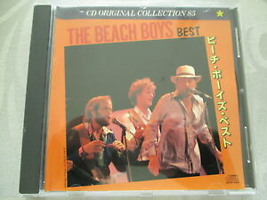 The-Beach-Boys-Best-CD-Original-Collection-85-made-in-Japan-no-ifpi