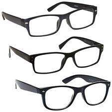 5d044c42e9cc item 3 Mens Gift Pack 3 Large Designer Style Reading Glasses Spring Hinges  UV Reader -Mens Gift Pack 3 Large Designer Style Reading Glasses Spring  Hinges UV ...