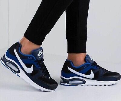 Nike Air Max Command Leather Sneaker caballero zapatos de cuero azul Classic 629993 048 | eBay