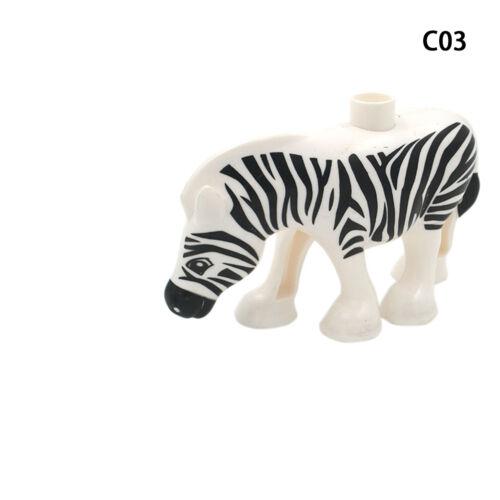 Classic Animal Zoo Big Building Blocks Educational Toys Child Baby Kid Gift UK