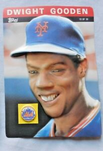 Details About 1985 Topps 3d Baseball Stars Card Dwight Gooden Mets 19