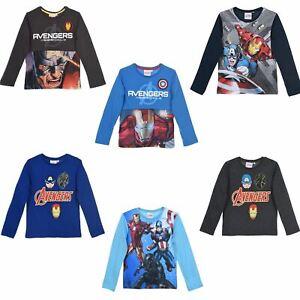 Avengers Boys Long Sleeves T Shirt