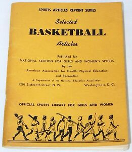 Selected-Basketball-Articles-Girls-amp-Women-039-s-Sports-1953-Physical-Ed-93-pgs
