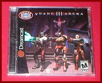Quake Iii Arena For The Sega Dreamcast System Sealed
