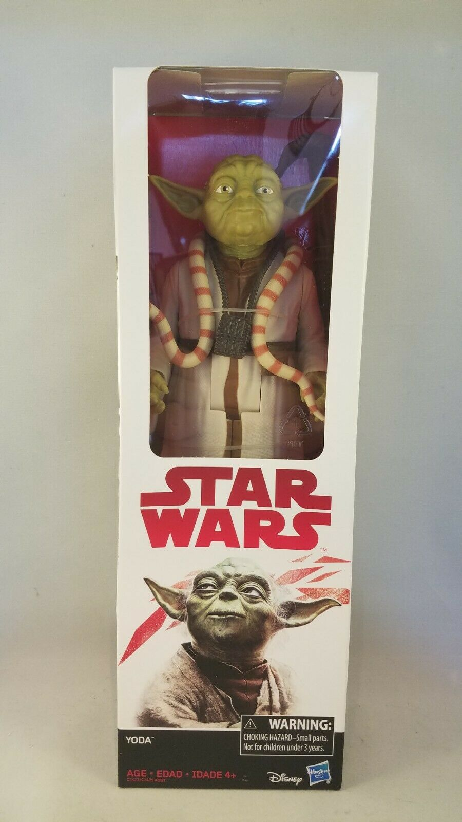 "Star Wars The Empire Strikes Back 6/"" Yoda C3423 From Hasbro"