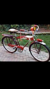 N.O.S. 1955 MURRAY BICYCLE AERO LINE BOY'S BALLOON TIRE N.W.T.-AMAZING SURVIVOR!