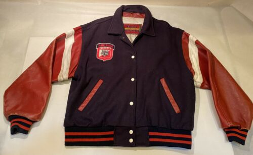 Vtg Coopers Collegiate Arizona Wildcat Wool Varsit