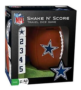 NFL-Dallas-Cowboys-Shake-039-n-Score-Dice-Game-New-Free-Shipping