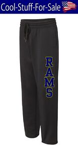 price reduced superior materials most fashionable Details about Los Angeles Rams Football Unisex Performance Sweatpants with  Pockets