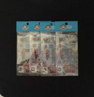 4pks Paul Frank Julius & Friends Puffy Stickers London Art Crafts Party