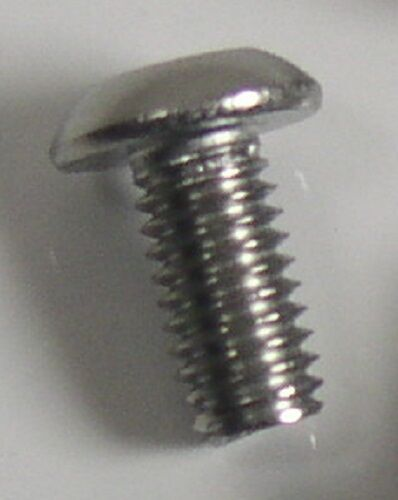 M3 x 0.5 x 6mm SS Stainless Steel Button Head Cap Screw Qty 50 M3-0.5 50