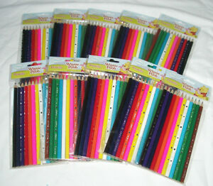 120 pc Winnie the Pooh Wooden Coloring Pencil Disney Licensed School Supply Gift