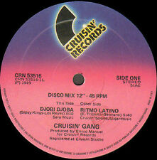 CRUISIN' GANG - Djobi Djoba / Ritmo Latino - Cruisin
