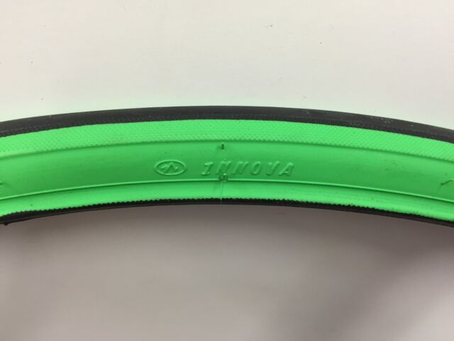 NEW Innova Tire 700x 23c GREEN/BLACK track fixie road