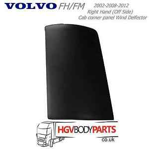 Volvo-FH-FM-2nd-3rd-Cab-Corner-Panel-Wind-Deflector-RH