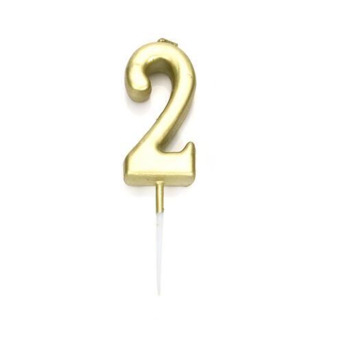 Number 0-9 Happy Birthday Acrylic Cake Topper Card Decoration DIY Party Supplies