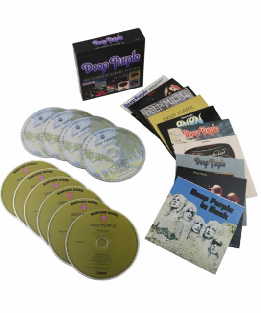 DEEP PURPLE: The Complete Albums 1970-1976 [Box] CD, 2013, 10 Discs) US Seller