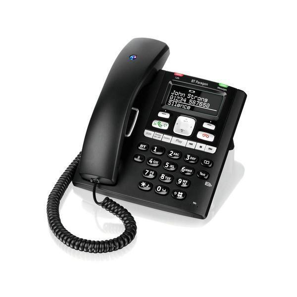 Binatone Acura 3000 Corded Phone With Answer Machine Black