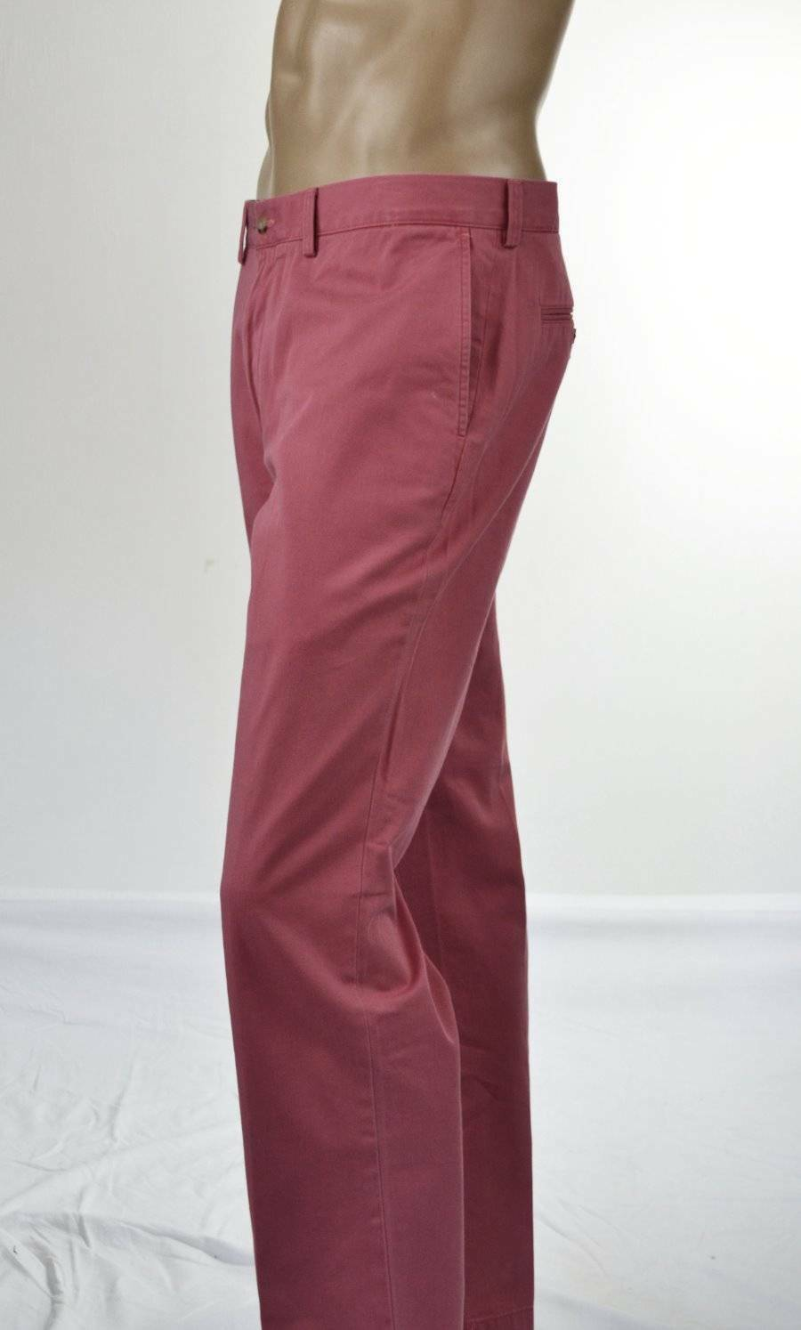 Polo Ralph Lauren pink Red Classic Fit Cotton Pants NWT