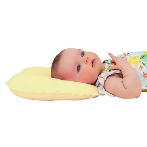 LEMON YELLOW. ANTI-PRESSURE BUTTERFLY BABY HEAD SUPPORT PILLOW PREVENT FLATHEAD