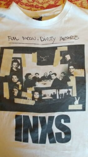 Vintage 1994 INXS Tour Shirt Mens XL Dirty Honeymo