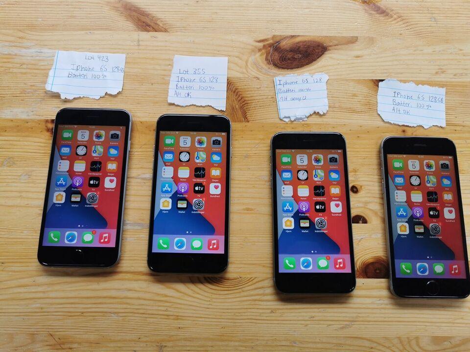 iPhone 6S, 128 GB, aluminium