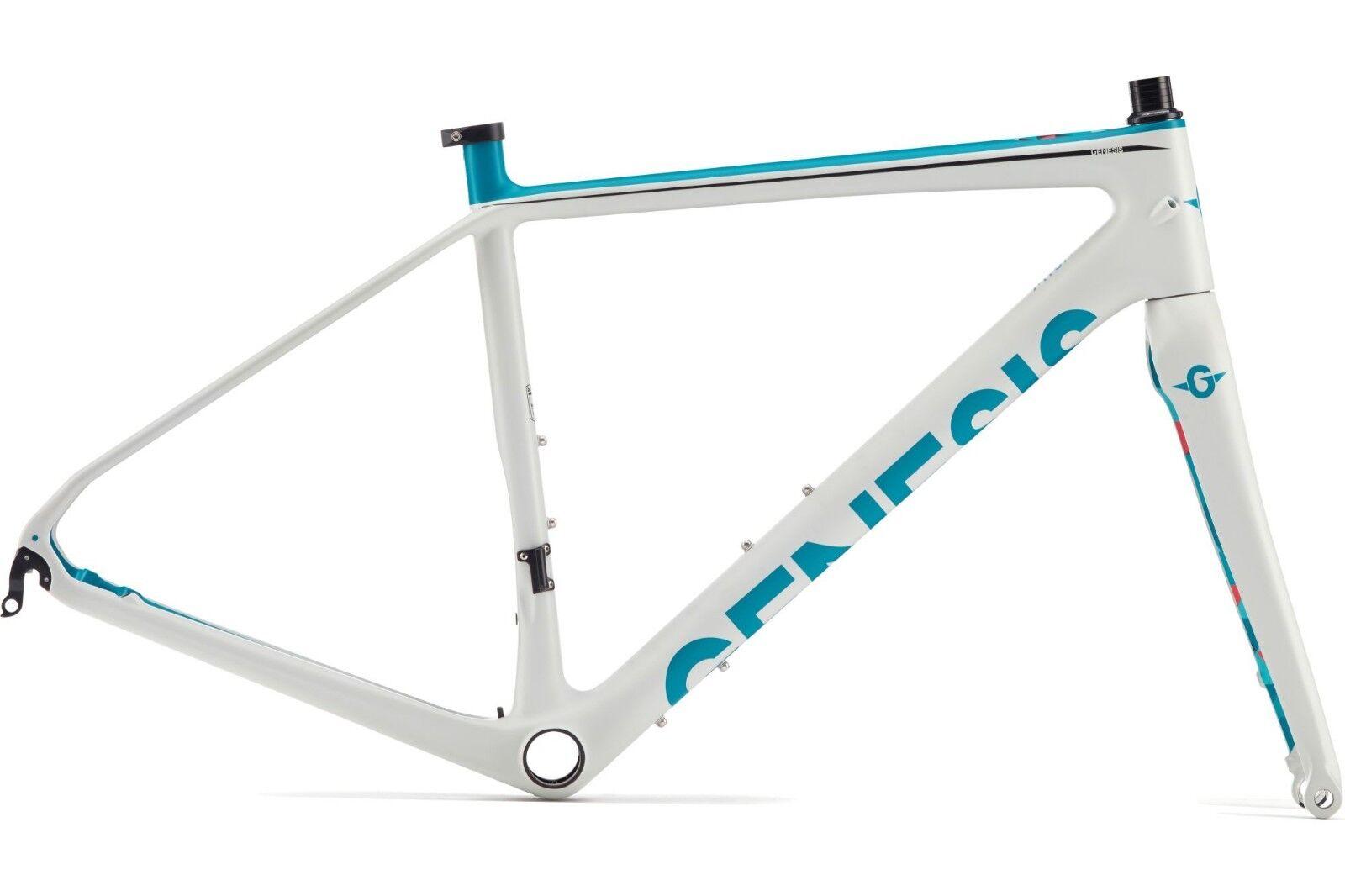 2017 Genesis Datum W Ladies Carbon Bike Frame and Fork Size XS